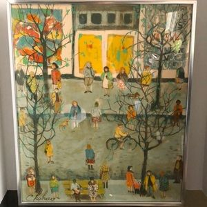 Nathalie Chabrier (French 1932)